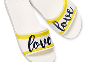 Drew ♥ Crocs Sloane Graphic Slide